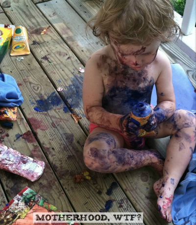 The Messiest Dirtiest Kiddo Photo Contest with a Totally Kickass Prize!!!