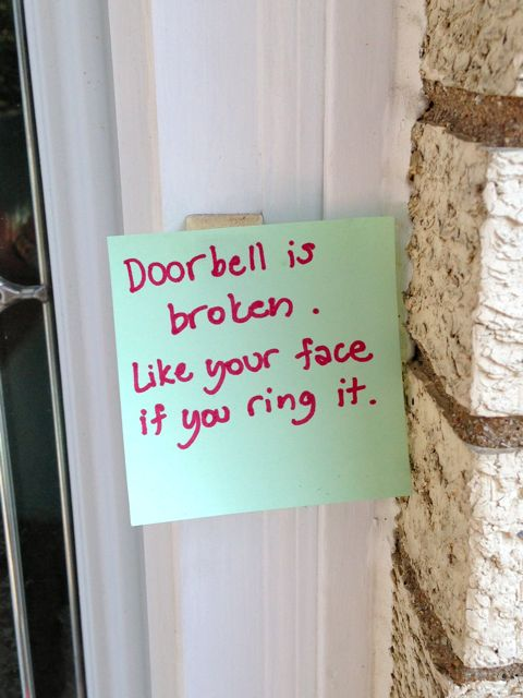 ringing at your doorbell 3
