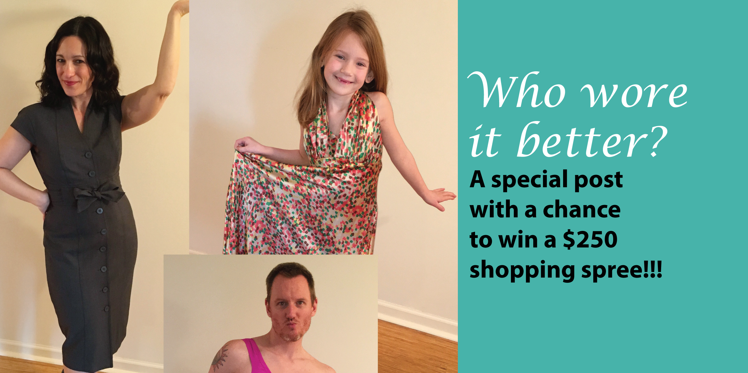 It's official, my daughter has started raiding my closet, grrrr  (you could win a $250 shopping spree!!!)